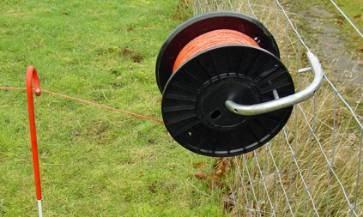 Reel holder for Dairy Winder electric fencing machine