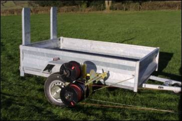 Trailer Rappa with ATV Mounting Frame