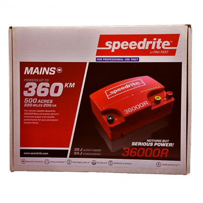 SPE360000R mains electric fence energiser