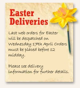 Easter Deliveries