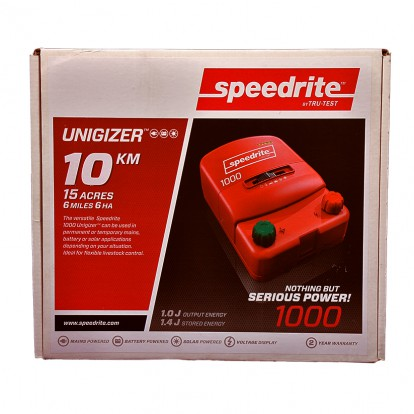 SPE 1000 dual power electric fence energiser