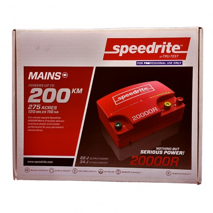 SPE20000R mains electric fence energiser