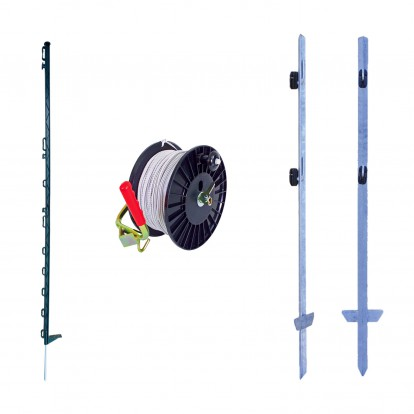 Two-line Horse Electric Fence Pack