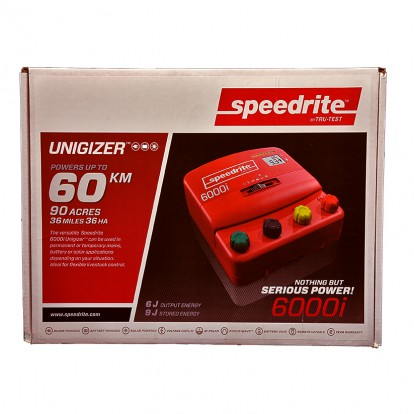 SPE 6000i dual power electric fence energiser