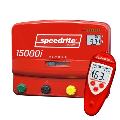 SPE150000R dual power fence energiser with Remote Fault Finder